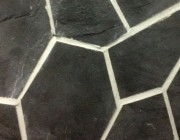 Crazy Paving - Charcoal